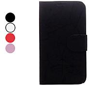 Bliksem patroon Full Body Case met standaard en Card Slot voor Samsung Galaxy Note 2 N7100 (verschillende kleuren)