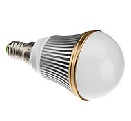 Bombillas Globo Regulable A50 E14 3 W 3 LED de Alta Potencia 240 LM Blanco Cálido AC 100-240 V
