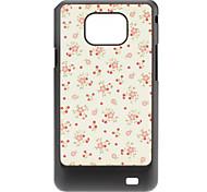 Flower Pattern Hard Case for Samsung Galaxy S2 I9100