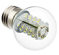 2W E26/E27 LED Kugelbirnen G45 32 SMD 5050 175 lm Natürliches Weiß AC 220-240 V