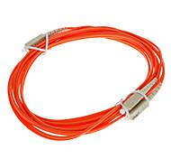 Cabo de fibra óptica, SC / SC-UPC, Multi Modo, Duplex - 3 metros (62.5/125 Type)