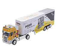 1:42 Container Truck Model (Assorted Colors, Model:0783-14)