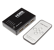 HDMI Switch 5in 1out 1080P HDMI1.3 with Remote Control