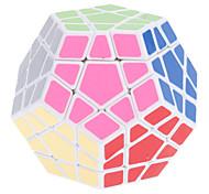 Toys Shengshou® Magic Cube Megaminx Speed Magic Toy Smooth Speed Cube Magic Cube puzzle White ABS