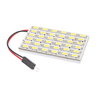 T10/BA9S/Festoon 8W 36x5730SMD Natural White Light LED Bulb for Car Reading Lamp (12V)