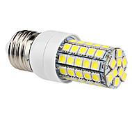 6W E26/E27 Bombillas LED de Mazorca T 59 SMD 5050 540 lm Blanco Natural AC 100-240 V