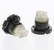 T4.7 Blue Light LED Bulb for Car Instrument Lamp (DC 12V, 1-Pair)