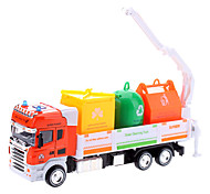 1:42 Container Truck Model with Light and Music (Assorted Colors, Model:0783-2)