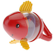 Fish Shaped Red Rattle Toy