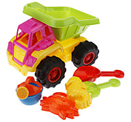 Kid's 7-in-1 Plastic Truck Beach Toys