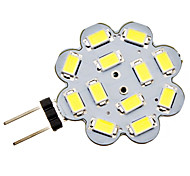 3W G4 LED à Double Broches 12 SMD 5730 270 lm Blanc Naturel DC 12 V