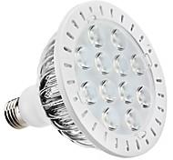 Spot Lampen PAR E26/E27 12 W 1080 LM 6000K K 12 High Power LED Natürliches Weiß AC 85-265 V