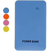 Slim Portable Power Bank for Mobile Devices(10000mAh, Orange/Yellow/Blue/Green)