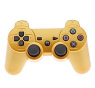 mando inalámbrico para PS3 (de oro)