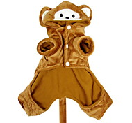 Funny Cute Monkey Style Pet Hoody Suit for Dogs (XS-XL)