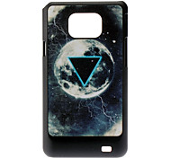 Triangle und Planet Pattern Hard Case für Samsung Galaxy S2 I9100