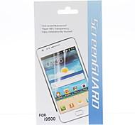 HD Screen Protector mit Reinigungstuch für Samsung Galaxy i9500 S4