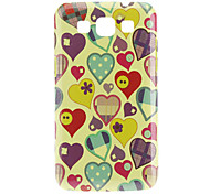 Heart Pattern Hard Case for Samsung Galaxy Win I8552