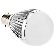 9W B22 LED Globe Bulbs A60(A19) 18 SMD 5730 810 lm Warm White AC 85-265 V