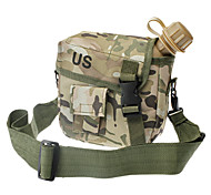 Outdoor Plastic Kettle with Military Camouflage Kettle Pack