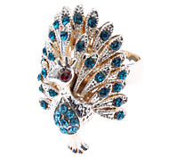 Diamond Peacock Ring