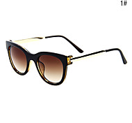 Unisex UV400 Metal Round Shape Full Frame Sunglasses(UV Protection)