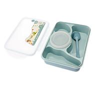 4 Setor Sealed Lunchbox (cor aleatória)