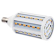 daiwl e14 7w 60x5630smd 560-630lm 2500-3500k cálida luz blanca bombilla LED de maíz (220-240v)