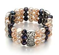 Women's Strand Bracelet Pearl/Alloy Pearl