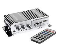 Professional Lepai 2020 + Car Motor Cycle 2 x 20W amplificador 2CH Hi-Fi amplificador de potência estéreo