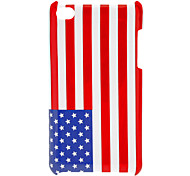 American Flag Pattern Hard Case for iPod touch 4