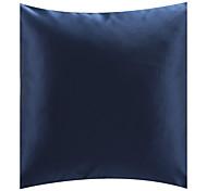 """18 """"Polyester fronha moderno quadrado azul decorativa"""