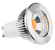 GU10 5W 400-450LM 3000-3500K Warm White Light COB LED Spot Bulb (85-265V)