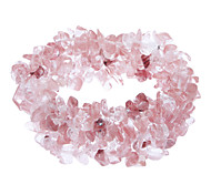 Watermelon Quartz Gems Bracelet Rouge élastique