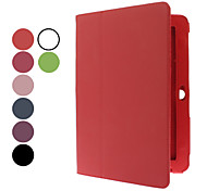 10.1 Inch Solid Color Litchi Pattern Full Body Case with Stylus and Screen Protector(Assorted Colors)