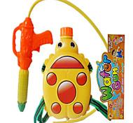 chaleira joaninha amarela com 26 centímetros de tubo de pulverização de água brinquedos