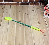 flor de plástico raqueta reclamo para mascotas (color al azar)