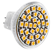 MR11 1.5W 30x3528SMD 150-180LM 3000-3500K Warm White Light LED-Spot-Lampe (DC 12V)
