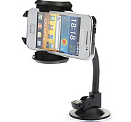 Universal Car Mount Holder com Photo Frame para iPhone 3G/3GS/4/4S PDA e outros (Preto)