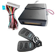 Universal Car Keyless Entry System with Trunk Release & 2 Remote Controllers