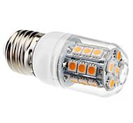 E26/E27 3 W 27 SMD 5050 200 LM Warm White Corn Bulbs AC 220-240 V