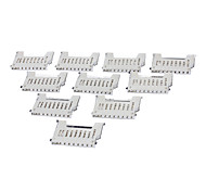 10pcs Médio SD Card plataforma TF plataforma Micro SD Memory Card Titular TF Define