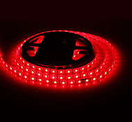 Waterdichte 5M 30W 300x5050 SMD Red Light LED Strip lamp (12V, IP44)
