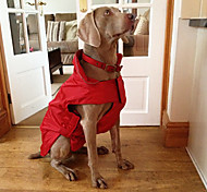 Dog Coats-XS/S/M/L/XL/XXl/3XL-Winter-Red/Blue/Black-Waterproof-Fleece
