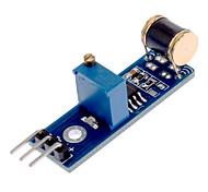801S LM393 Módulo Sensor de Vibração - Azul + Preto (DC 3 ~ 5V)