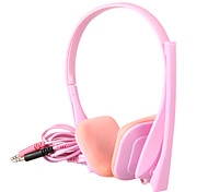 KEENION Fashionable Special Design On-Ear Earphone with Microphone KDM-802(Pink)