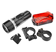 LED Flashlights/Torch / Handheld Flashlights/Torch LED 1 Mode Lumens Tactical AAA Cycling - Others , Black Plastic