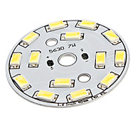 7W 14x5630SMD Natural White Light Aluminum Base LED Emitter (22-24V)