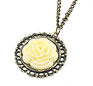 Yellow Pendant Necklaces / Vintage Necklaces Daily Jewelry
