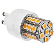 Foco LED Tipo Maíz SMD G9 de Luz Cálida Blanca de 2800-3200K de 27*5050 de 3.5W (230V)